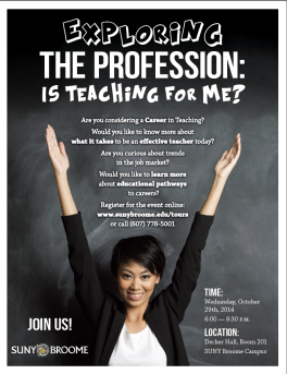 Exploring The Profession Flyer 2014 final