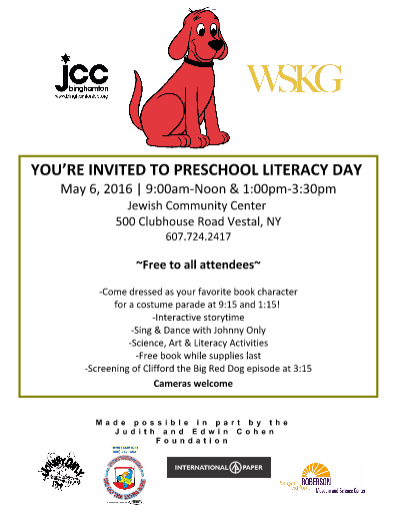 literacy day flyer